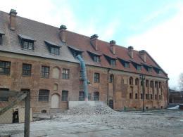 Wykopaliska na dziedzińcu miały związek z dofinansowaną przez Unią Europejską modernizacją Muzeum Archeologiczno-Historycznego