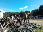 W Elblągu rower staje się coraz popularniejszym środkiem transportu. Widać to także na imprezach sportowych, np. w czasie dorocznego rajdu Z Fidelitas po zdrowie, fot.: archiwum