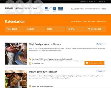 Informacje szczegółowe znaleźć można na stronie www.edd2012.pl