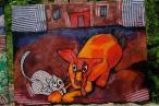 Jedna z prac, które od jutra będzie pokazywać Galeria Prawdziwej Sztuki w Olecku...