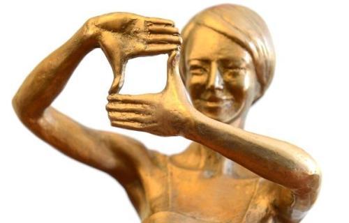 Statuetka Nagrody PISF, Fot. Marcin Kułakowski