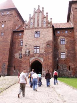 Nidzicki zamek został wybudowany w XIV wieku przez Krzyżaków...