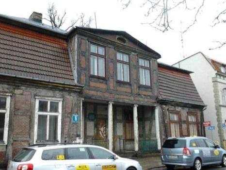 Na remont czeka m.in. dom z podcieniem wgłębnym w Pruszczu Gdańskim...