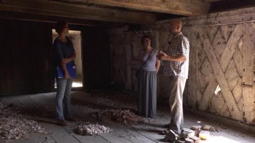 kadr z materiału filmowego Tomasza Misiuka