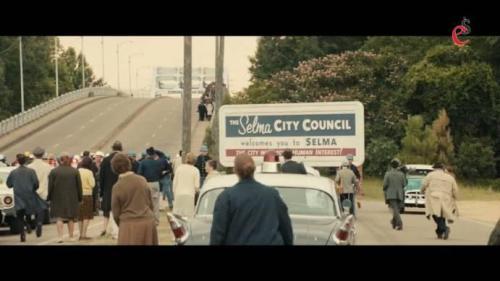 kadr z filmu o Martinie Lutherze Kingu