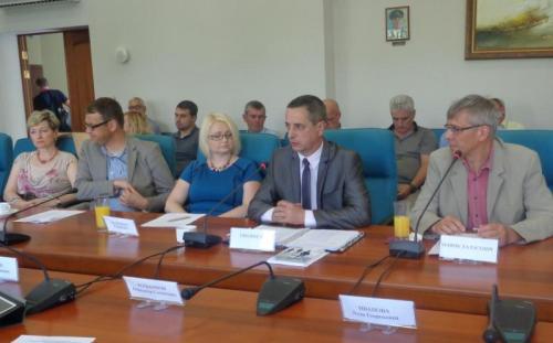 Rozmowy w porcie morskim w Kaliningradzie dotyczyły współpracy transportowej... Fot. - mat. prasowe