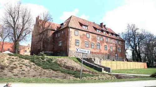 Zamek krzyżacki w Kętrzynie, fot. kadr z materiału filmowego Krzysztofa Chaja