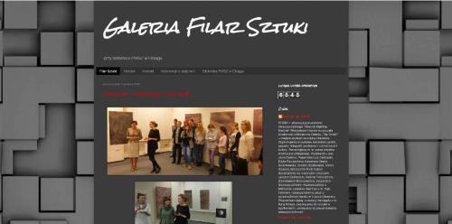 Warto zajrzeć na blog galerii...