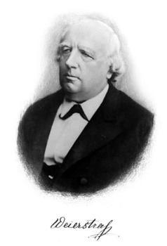 Karl Theodor Wilhelm Weierstraß (1815-1897) uczył w gimnazjach w Münster, Wałczu i Braniewie. Gdy jego publikacje matematyczne zyskały uznanie w świecie nauki, został profesorem Uniwersytetu Berlińskiego... Fot.: https://pl.wikipedia.org/wiki/Karl_Weierst