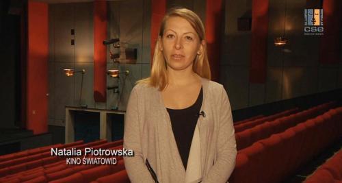 Natalia Piotrowska zapowiada propozycje repertuarowe kina Światowid