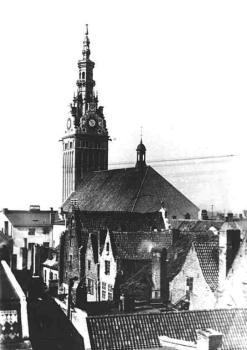 Katedra Św. Mikołaja przed 1945 r. /źródło: Wikipedia