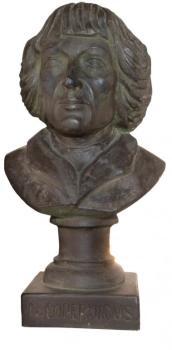 Popiersie Mikołaja Kopernika ze zbiorów fromborskiego muzeum.