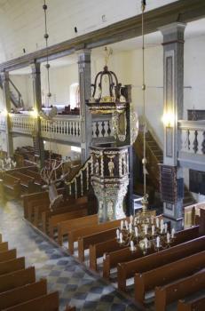 Wnętrze kościoła w Pasymiu, fot. www.nid.pl