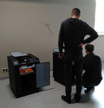 Montaż i testowanie sprzętu (fot. red.)